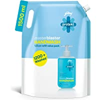 Godrej Protekt Masterblaster Germ Protection Liquid Handwash Refill, 1500ml