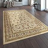 Paco Home Orientteppich Traditionell Klassische Optik Persisch Floral Beige Creme Rot, Grösse:160x230 cm