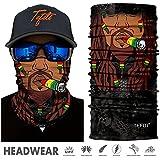 Tefiti Sports Headwear 3D Uv Sun Face Shield Mask Bandana Balaclava Headband For Cycling Fishing Motorcycling Running Skateboarding Hunting Moisture Wicking Protection (hr-040964)