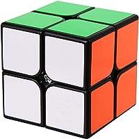 ROXENDA Speed Cube, 2x2x2 Vitesse Cube de Magique; Autocollant Spin Lisse Super Durable avec des Couleurs Vives pour…