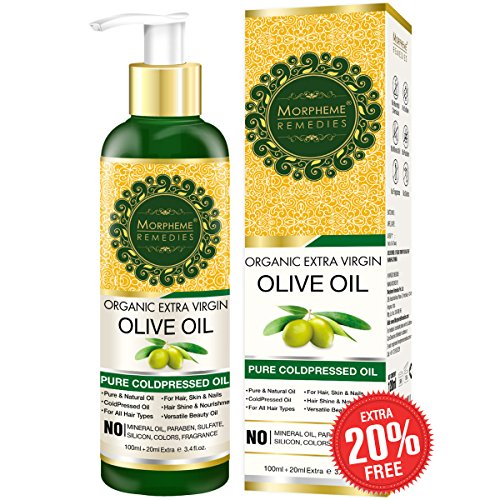 3. Morpheme Remedies Organic Extra Virgin Olive Oil