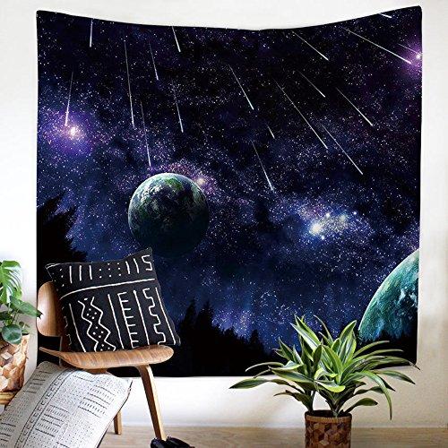 y Wandbehang Universe Sterne Weltall 3D Print Nature Art Wand Home Decor, Moderne Kunst für Wohnzimmer, Schlafzimmer, Schlafsaal 59