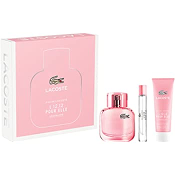 Lacoste Touch Of Pink Eau de Toilette and Body Lotion Gift Set for ... 5e30f65520
