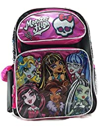 Monster High–Sac à dos–Rose groupes filles 40,6cm Sac 141138