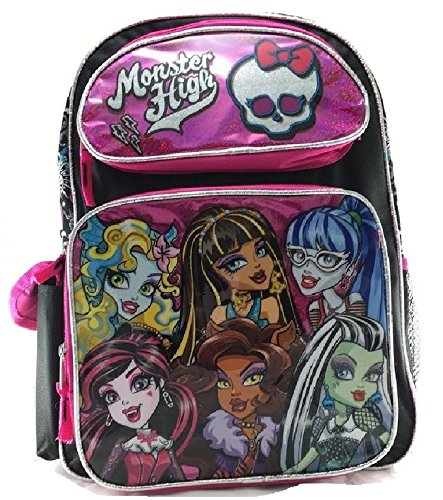 er High – Rosa Gruppen Mädchen 40,6 cm, New 141138 (Monster High W)