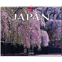JAPAN: Original Stürtz-Kalender 2018 - Großformat-Kalender 60 x 48 cm