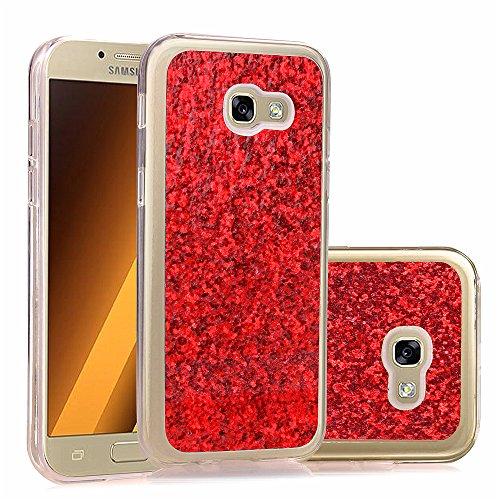 Bling Bling Case Cover für Samsung Galaxy A5 (2017) A520, BONROY® Luxus Bling Glitzer Schutzhülle Samsung Galaxy A5 (2017) A520 mit Kratzfeste Stoßdämpfende Strass Shining Für Samsung Galaxy A5 (2017) A520