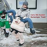 GARDENho.me Carry Me Kostüm Sumoringer Kaito Huckepack Trag Mich Karneval Fasching