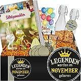 Legenden werden im November geboren | Do It Yourself Schnaps | Geschenk Freund