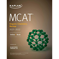 MCAT Organic Chemistry Review 2021-2022 (Kaplan Test Prep) (English Edition)