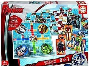 Los Vengadores - Set especial de 8 juegos (Educa Borrás 16693)