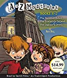A to Z Mysteries: Books H-J: The Haunted Hotel; The Invisible Island; The Jaguar's Jewel