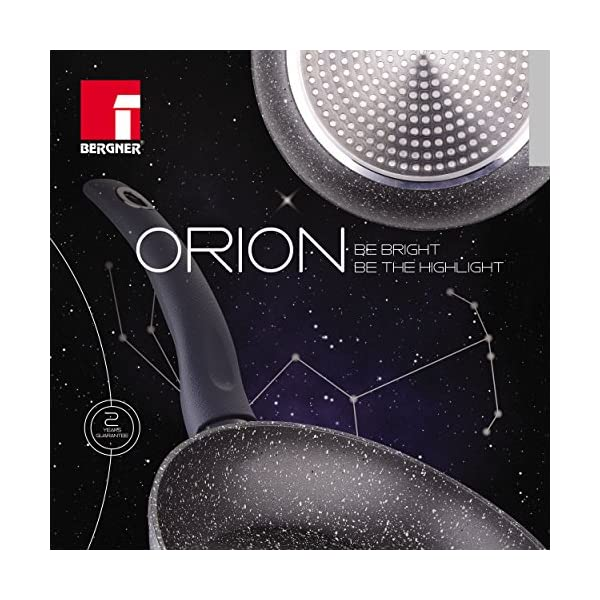 Bergner Orion Pancake Pan, Black, 24 x 1.8 cm 3