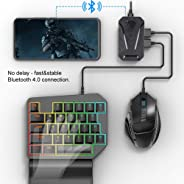 Kafuty Bluetooth Keyboard & Mouse Converter voor Playstation 4 / Nintendo Switch/Xbox One voor Android, iOS