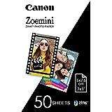 Canon Zoemini ZINK - Hojas de papel fotográfico (50 hojas, compatible con Canon Zoemini)