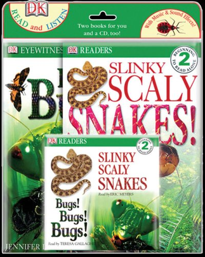 Bugs! Bugs! Bugs! and Slinky, Scaly Snakes! (Read & Listen Books)