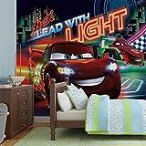 Disney Cars Lightning McQueen Bernoulli - Forwall - Fototapete - Tapete - Fotomural - Mural Wandbild - (749WM) - L - 152.5cm x 104cm - VLIES (EasyInstall) - 1 Piece