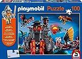 Schmidt Spiele 56074 - Playmobil, Asia-Drachenland, 100 Teile Puzzle
