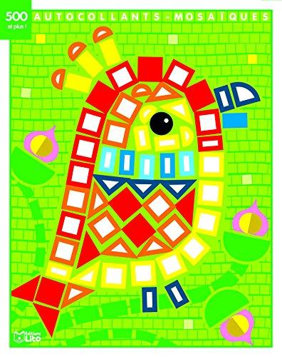Mes petits tableaux en autocollants mosaïques brillants - le perroquet - de 3 à 5 ans