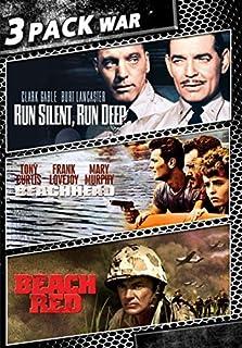 Run Silent, Run Deep / Beachhead / Beach Red by Clark Gable; Burt Lancaster; Tony Curtis; Cornel Wilde