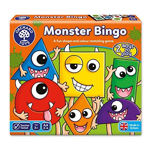 Orchard_Toys El Bingo de los Monstruos - Juego de Mesa