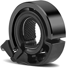 Minn Fahrradklingel Laut, Q Design Fahrradglocke, für Lenker von 22,2 bis 31,8 mm, Radfahren Fahrrad für Alle Fahrrad (Lenker Alarm Horn Ring 22.2-31.8mm)