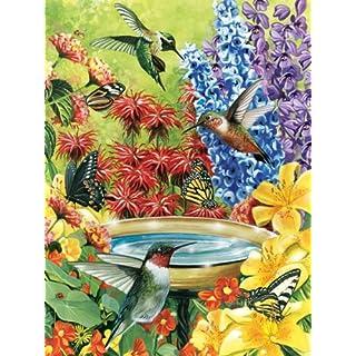 2PK HumBird Garden Puzzle 500 pcs