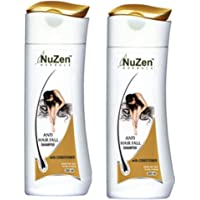 Nuzen Anti Hair Fall Shampoo with Conditioner (Pack of 2)