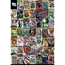 1art1 52924 Poster DC Comics Montage Couvertures 91 x 61 cm