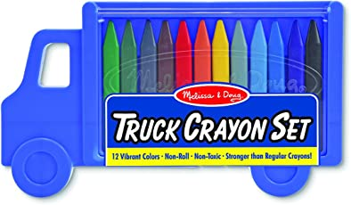 Melissa & Doug 4159 Truck Crayon Set
