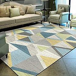 Alfombra geométrica Moderna Salón nórdico 140 x 200 cm