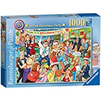 Ravensburger Best of British No.19 - Office Christmas Party, 1000pc Jigsaw Puzzle