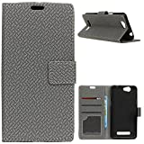 KM-WEN® Case for Wileyfox Spark/Wileyfox Spark +/Plus Book