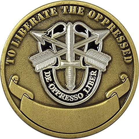 United States Army Special Forces Airborne Challenge Coin by Military Productions