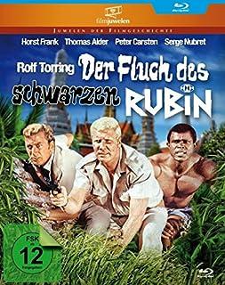 Der Fluch des schwarzen Rubin - mit Horst Frank (Filmjuwelen) [Blu-ray]