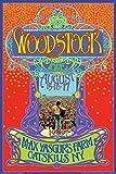 Póster Woodstock - MAX Yasgurs Farm, Catskills NY. (61cm x 91,5cm)