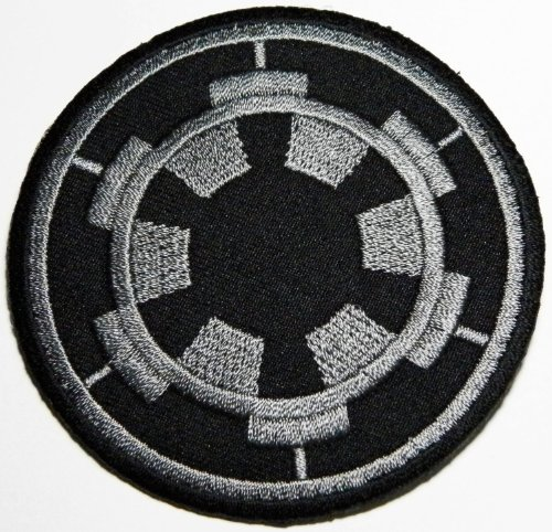 Star Wars: Imperial Target Patch Embroidered Iron on Film Patch