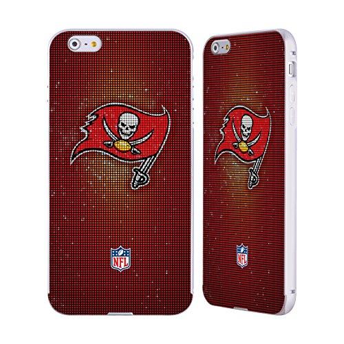 Ufficiale NFL Pattern 2017/18 Tampa Bay Buccaneers Argento Cover Contorno con Bumper in Alluminio per Apple iPhone 5 / 5s / SE LED