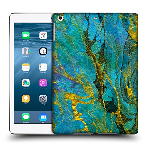 official-haroulita-yellow-teal-marble-hard-back-case-for-apple-ipad-air