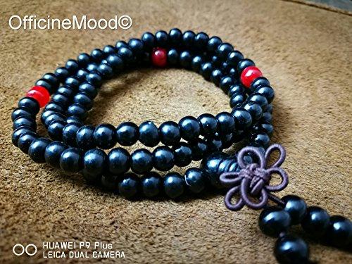 braccialetto-mala-buddista-nero-carbone
