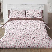 Funda Nórdica Burrito Blanco 425 rosa cama 90cms.