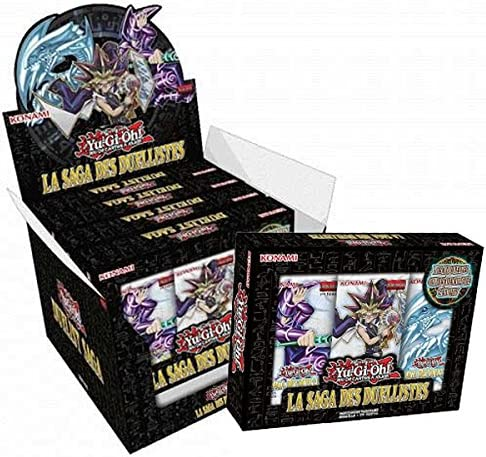Yu-Gi-Oh! - Jeux Jeux Jeux de Cartes - Packs Edition Spéciale - Boite de 5 Duelist Saga (En Français)   Exquis  004c60