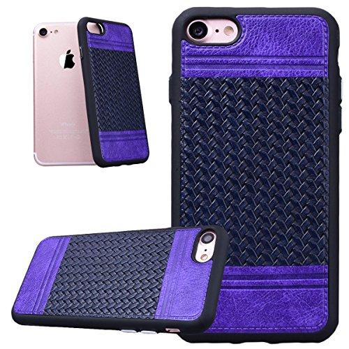 HBInt Hülle für iPhone 6 / 6S Handytasche Weben Muster Silikon Weich ...