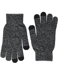 hi-fun hi-Glove Herren Classic Handschuhe für Touchscreen/Handy/Smartphone/Tablet, grau