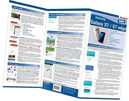 Samsung Galaxy S7 und S7 edge - der leichte Einstieg!: Alles auf einen Blick. Besonders für Senioren geeignet! (Wo&Wie)