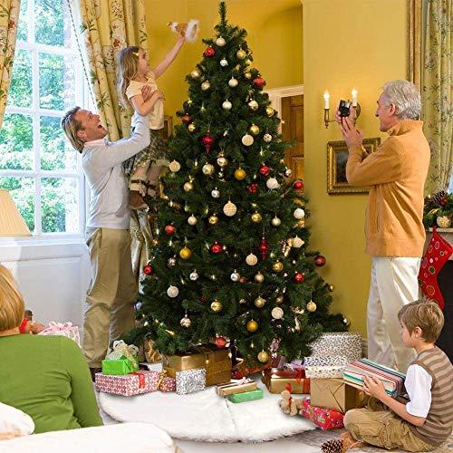 Albero Di Natale Bianco 90 Cm.Amade Gonne Per Albero Di Natale Tappeto Albero Di Natale Bianco