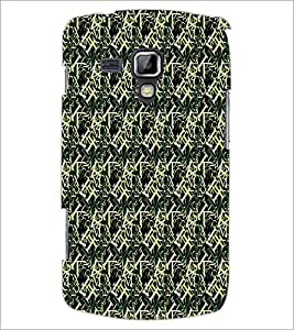PrintDhaba Typography D-6079 Back Case Cover for SAMSUNG GALAXY S DUOS S7562 (Multi-Coloured)