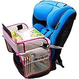 Auto Reizen Lade Voor Kinderen Stuurwiel Tafel Lade Auto Seat Organiser Met Lade Tafel Kids Travel Tray Vliegtuig Reizen Tray
