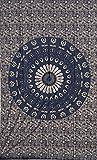 Baumwolle Hippie indischen Mandala Wandteppichen Bohemian Überwurf Decor ...