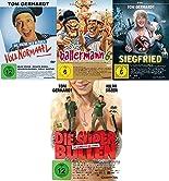 Tom Gerhardt - 4 DVD Set mit Voll normal, Ballermann 6, Superbullen, Siegfried - Deutsche Originalware [4 DVDs] hier kaufen